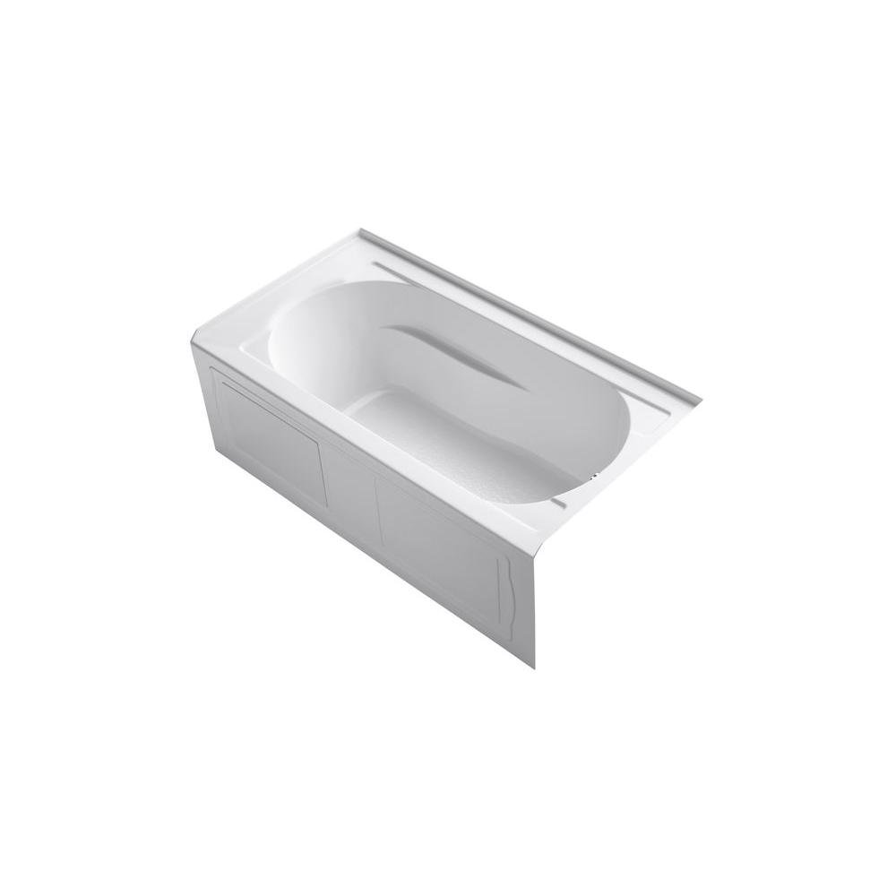 Kohler K-1184-RA-0 Devonshire Bath, White - Freestanding Bathtubs ...