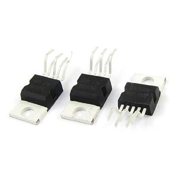 Agua y madera 3 pcs TDA2030 A Individual Op Amp Audio Amplificador Operacional IC Chips de