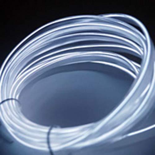 Car LED Strip Light Car Interior Lighting Automotive Neon Accent Light Kits, 5m 16Ft EL DC 12V Flexible Interior Decor Atmosphere Strip Lamp, Music Sensor Remote Control