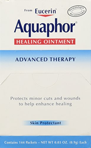 BEIERSDORF Aquaphor Foil Ointments Packets, Net Wt 0.03oz , 144 Count Ointment Foil