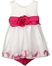 Gillberry Women's Girls Kids Full Lace Floral One Piece Princess Party Dress
