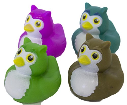 Set of Four 2 Inch Rubber Duckies