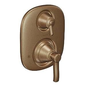 Moen t4211az rothbury antique bronze moentrol valve trim - Moen antique bronze bathroom faucets ...