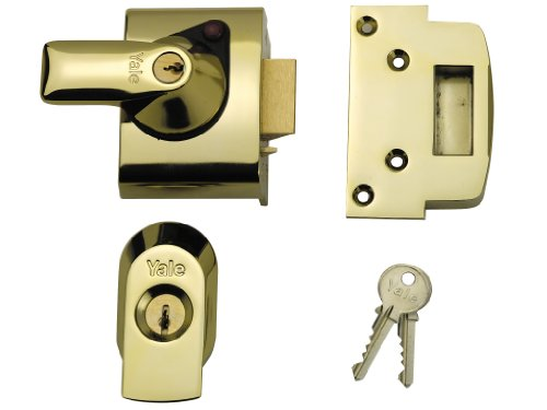 Price comparison product image Yale BS3621 Cyl Rim Lock Brass 40MM