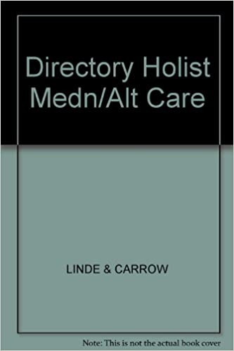 Amazon com: The Directory of Holistic Medicine and Alternate