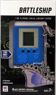 Electronic Hand Held Battleship Game by Hasbro