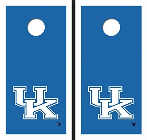 University of Kentucky Blue Matching Border Cornhole Boards