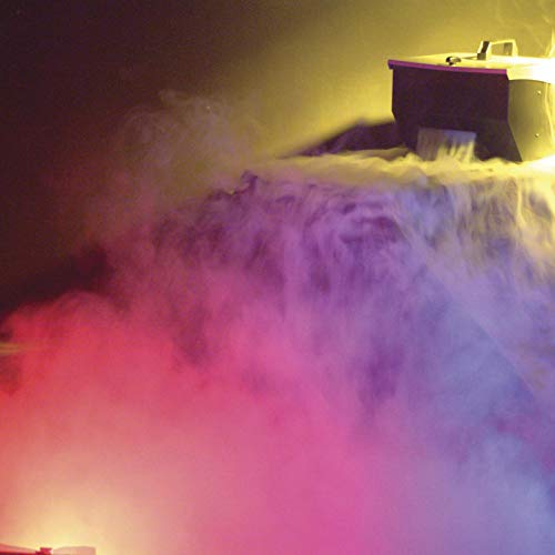 how to make low lying fog with dry ice