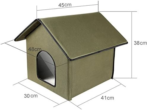 Outdoor Indoor Cat House By Pet Peppy