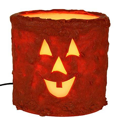 CR Designs Oval Jack-O-Lantern Candle Sleeve ()