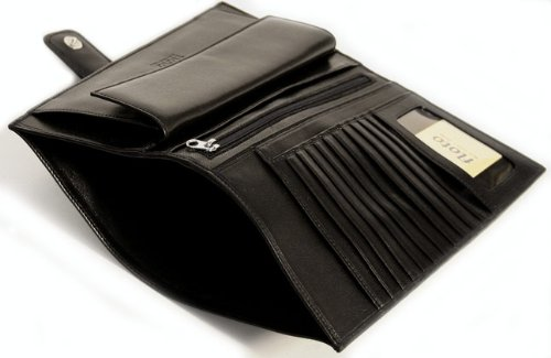 Firenze Leather Document Folder Color: Black by Floto Imports (Image #3)