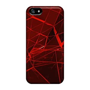 Awesome Case Cover/iphone 5/5s Defender Case Cover(red Web)