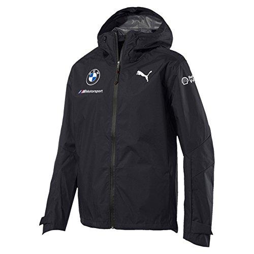 PUMA - Mens Bmw M Team Rain Jacket, Size: Small, Color: Anthracite
