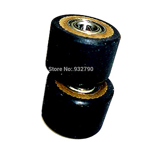 FINCOS 1/2/3/4/5/6/10pcs Pinch Roller for Roland Vinyl Plotter Cutter 4x10x14mm Paper Pressing Wheel Engraving Machine Printer Parts - (Color: 10pcs) by FINCOS (Image #6)