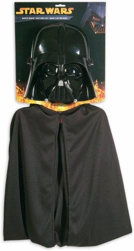 Rubies Star Wars Darth Vader Cape and Mask Set - Darth Vader Costume Kids