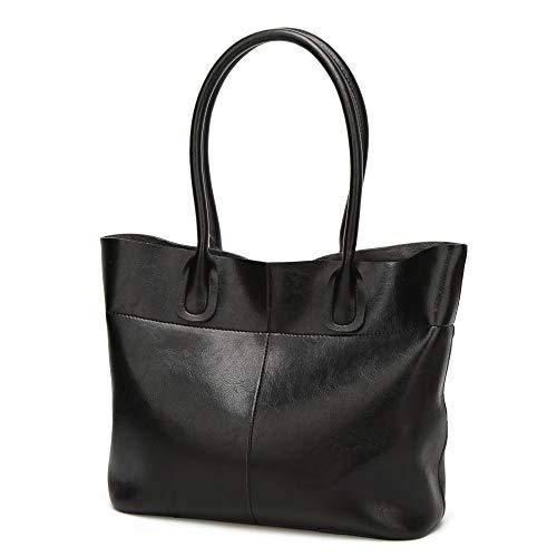 Ratbag Lady Sac Nouvelle Femme Sac Casual Mode Portable Grand Sac Des centaines Épaule Oblique Cross Noir
