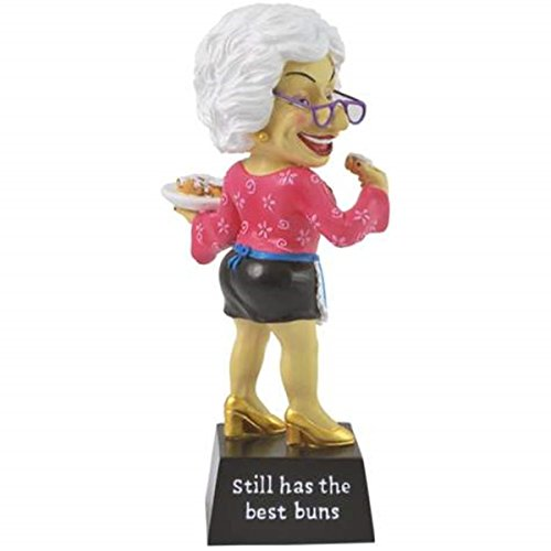 WL SS-WL-12965 Still Has The Best Buns Collectible Biddy Figurine, 6.75