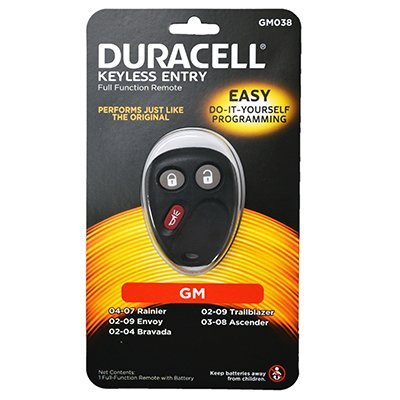 New Duracell Brand 3 Button GM Keyless Remote MYT3X6898B Worldwide Sourcing