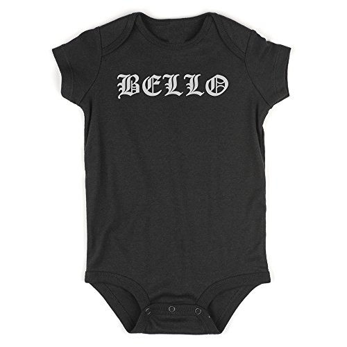Bella Boy Goth Baby Bodysuit One Piece Black 24M