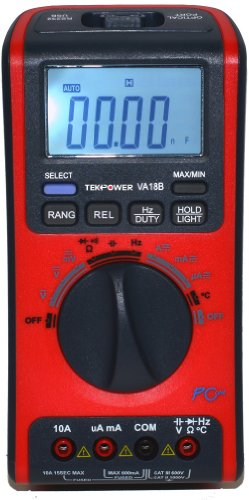 V&A Auto/Manual Ranging Digital Multimeter with USB Interface