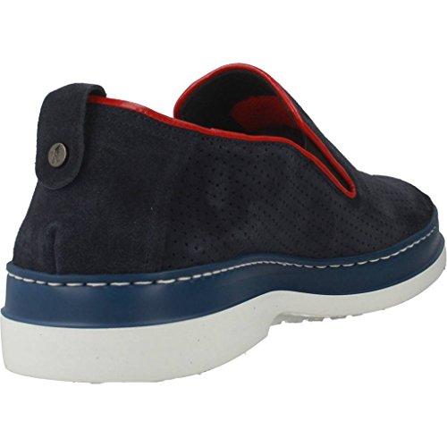 Mocasines para Hombre, Color Azul, Marca ANGEL INFANTES, Modelo Mocasines para Hombre ANGEL INFANTES 15074A Azul: Amazon.es: Zapatos y complementos