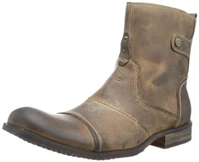 Bed Stu Men's Burst Boot,Answer Me Toast,8 M US