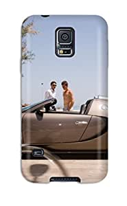 Premium NwYunVv6486Qzhrj Case With Scratch-resistant/ Bugatti Veyron Side Rome Grandsport Cars Other Case Cover For Galaxy S5