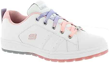 356ce12ace0 Skechers Street Cleat 2.0 Girls  Toddler-Youth Sneaker 11 M US Little Kid  White