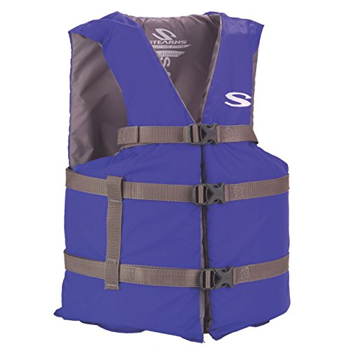 Stearns Adult Classic Series Vest,  3000001685, Blue, - George Lake Outlet