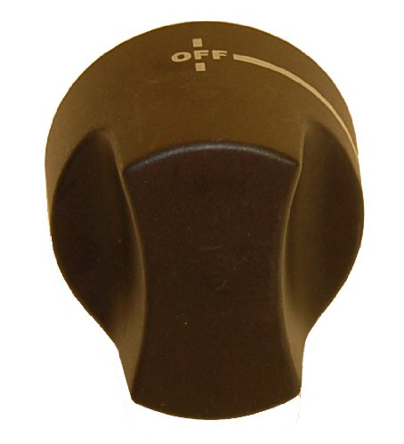 (Music City Metals 03430 Plastic Control Knob Replacement for Gas Grill Models Charbroil 4632215 and Charbroil)