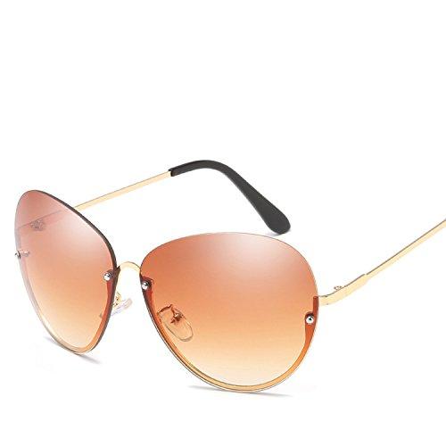 half frame M nails the United States brand sunglasses 66125 ()