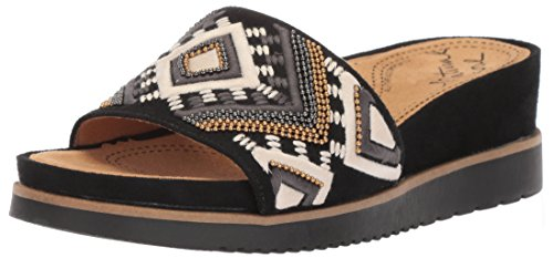 Black Sandal Kiki Slide Women's Soul Natural fpx6Uw