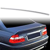 FYRALIP Painted Factory Print Code Trunk Lip Wing Spoiler For BMW 3-Series E46 Sedan Coupe E46 M3 Fast Delivery Easy Installation Perfect Fit - 668 Jet Black