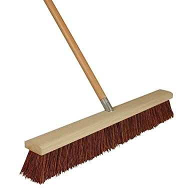 Harper Brush Works 24-Inch Rough Brissle Outdoor Push Broom 1243SC-7