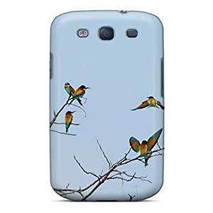 For Galaxy S3 Protector Case Bird Art Ii Phone Cover