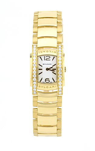 Bvlgari Assioma 18K Yellow Gold Womens Watch AA31G (Certified Pre-Owned)
