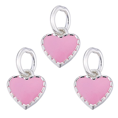 3pcs-925-sterling-silver-pink-heart-charms-pendant-diy-for-jewelry-making-and-crafting