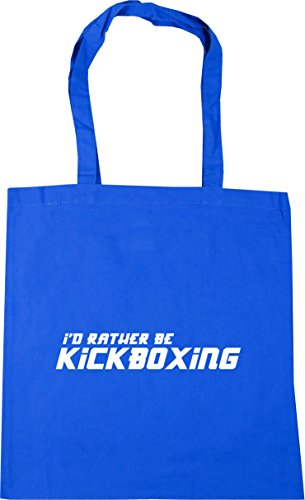 Be Beach I'd Blue Bag 10 Rather Tote Kickboxing x38cm litres Shopping 42cm Cornflower Gym HippoWarehouse qgaxUx