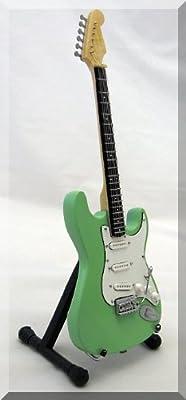 Jeff Beck miniatura Mini guitarra Fender Stratocaster verde ...