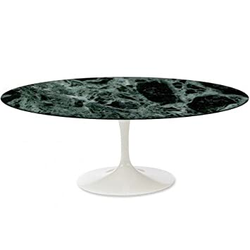 Tavoli.Design Tulip Tisch Eero Saarinen Oval 140 x 80 Marmor ...
