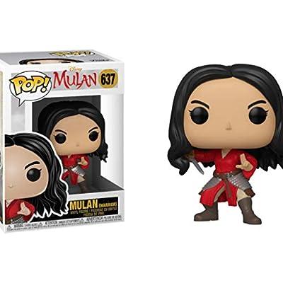 Funko Pop! Disney: Mulan (Live) - Warrior Mulan, Multicolour: Toys & Games