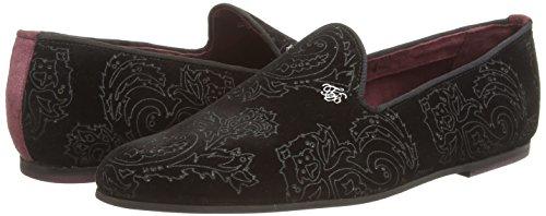 Ted Baker Trval - Zapatos sin cordones de cuero hombre negro - negro