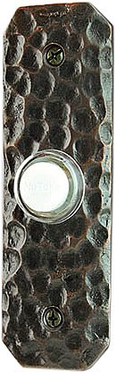NuTone NB0079RB Recess Mount Decorative Door Chime Push Button, Oil-Rubbed Bronze by Broan