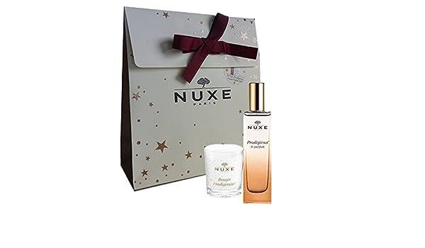 Nuxe estuche neceser Noel Prodigieux Perfume + Bougie prodigieuse vela: Amazon.es: Salud y cuidado personal