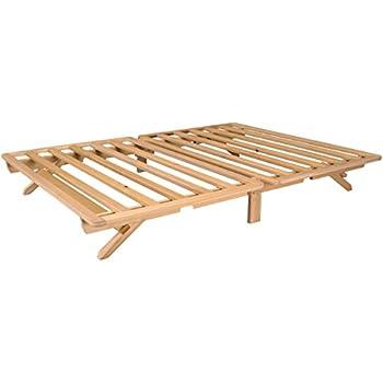fold platform bed queen