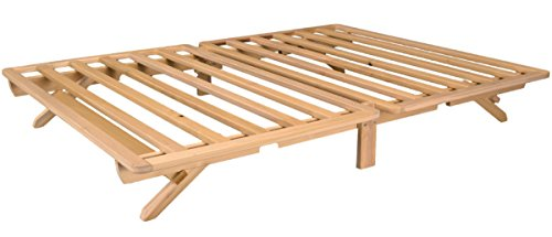 KD Frames Fold Platform Bed - Queen (Queen Bed Unfinished)
