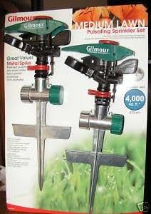 Medium Lawn Pulsating Lawn Sprinkler Set