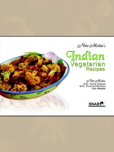 Indian vegetarian recipes kindle edition by nita mehta indian vegetarian recipes by mehta nita forumfinder Choice Image
