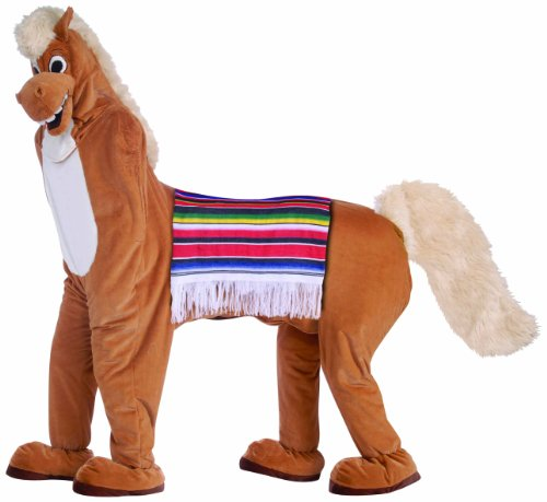 Forum Novelties Men's Two Man Horse Adult Costume, Brown, -
