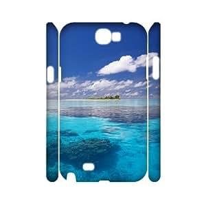 VNCASE Sea Ocean Phone Case For Samsung Galaxy Note 2 N7100 [Pattern-1]